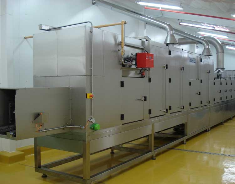 Chocolate plaque washing machine